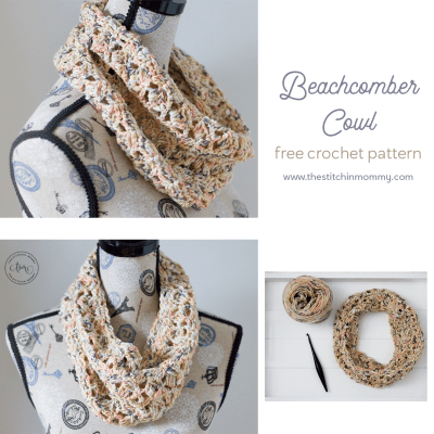 Beachcomber Cowl – Free Crochet Pattern