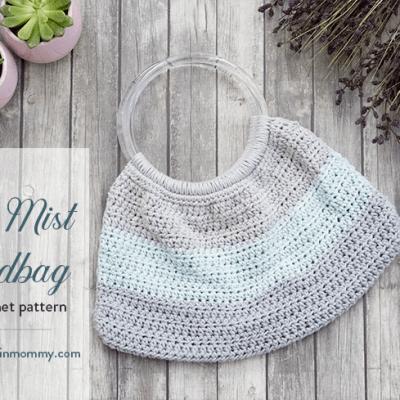 Blue Mist Handbag – Free Crochet Pattern