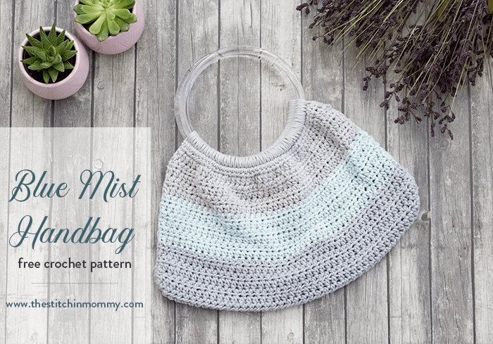 Blue Mist Handbag – Free Crochet Pattern