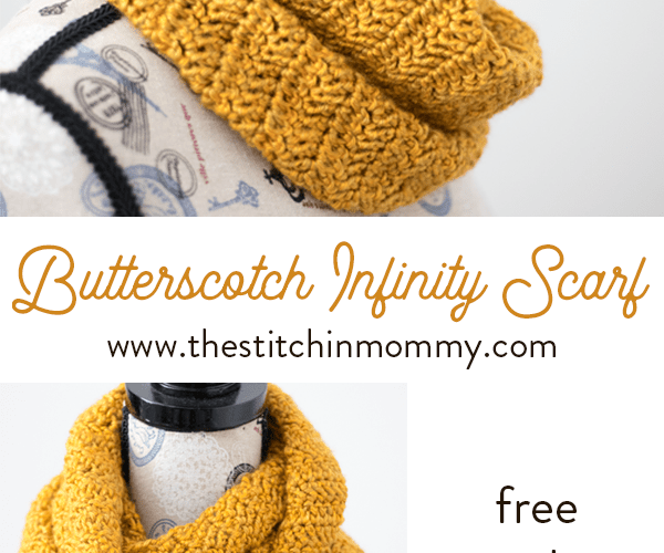 Butterscotch Infinity Scarf – Free Crochet Pattern