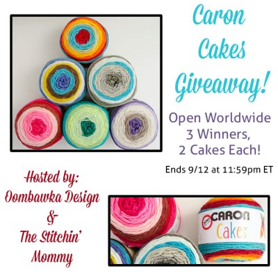 Caron Cakes Worldwide Giveaway!