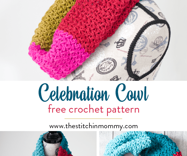 Celebration Cowl – Free Crochet Pattern