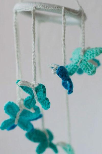 Crochet-Butterfly-Baby-Mobi