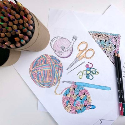 Inspiring Crochet Coloring Pages for Adults – Review