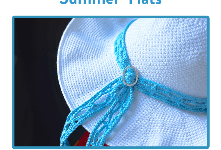 The August #CALoftheMonth2017 Summer Hat CAL Starts Today!