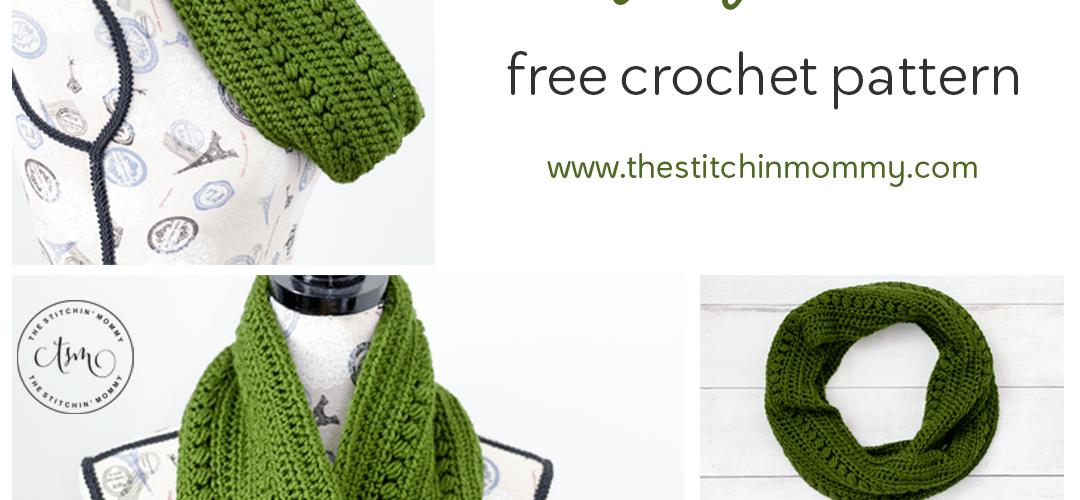 Cypress Infinity Cowl – Free Crochet Pattern