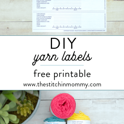 DIY Yarn Labels – Free Printable