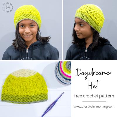 Daydreamer Hat – Free Crochet Pattern