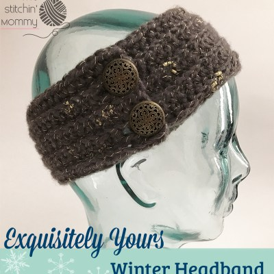Exquisitely Yours Winter Headband – Free Crochet Pattern