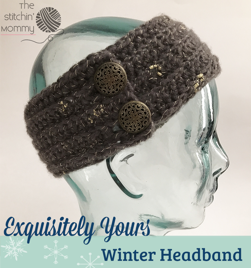 Exquisitely Yours Winter Headband Free Crochet Pattern The