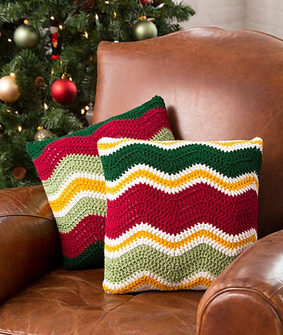 Holiday-Chevron-Pillows-by-
