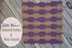 Little Waves Dishcloth