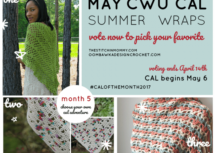 Choose Your Own 2017 CAL Adventure – May Summer Wraps