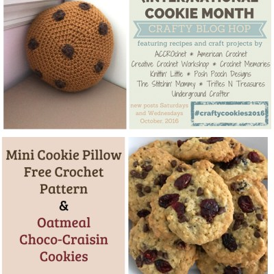 mini-cookie-pillow-free-crochet-pattern-and-oatmeal-choco-craisin-cookies-recipe