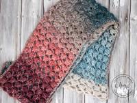 Moonlight Stroll Infinity Scarf - Free Crochet Pattern ...