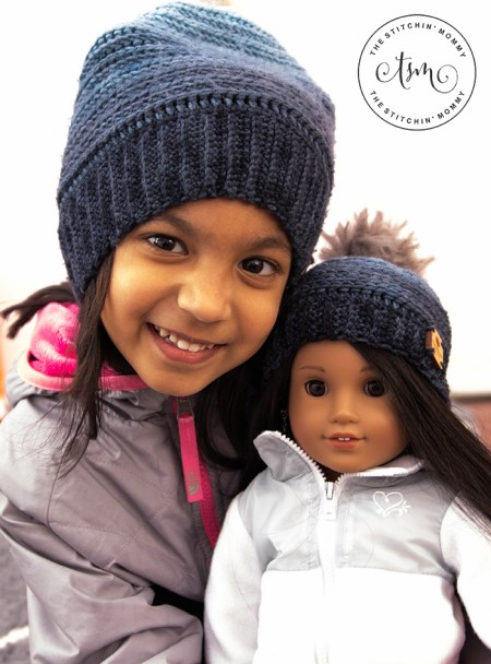 My Favorite Beanie - Free Crochet Pattern for 18 Inch Doll | www.thestitchinmommy.com