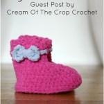 My First Booties – Free Crochet Pattern