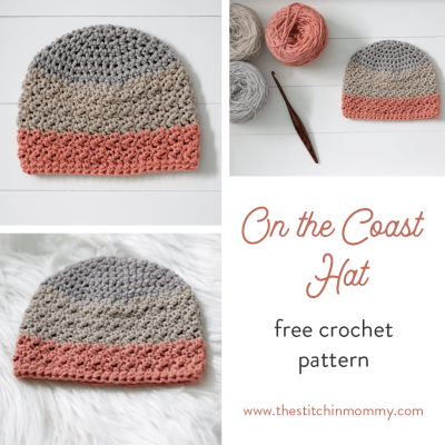On the Coast Hat – Free Crochet Pattern