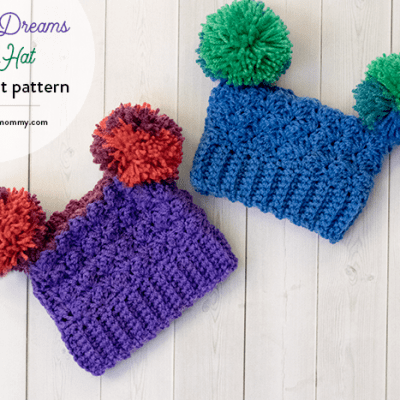 competitive price b8f14 7d154 Rainbow Dreams Sack Hat – Free Crochet Pattern in Several Sizes