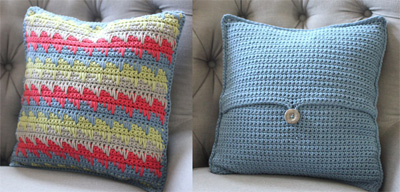 22 free crochet pillow patterns that are perfect for decorating your reversible spike stitch pil dt1010fo