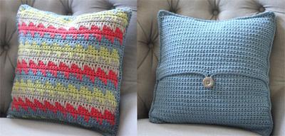 Crochet Pillow Case Designs