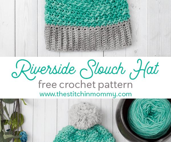 Riverside Slouch Hat – Free Crochet Pattern