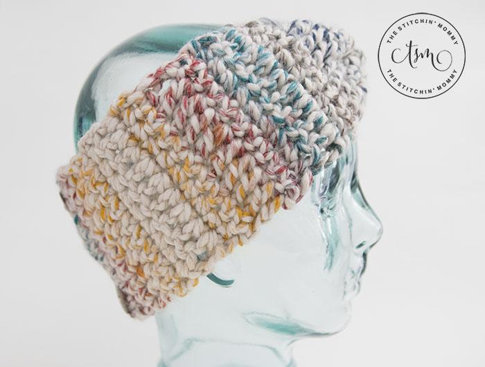 Rustic Chunky Headband Free Crochet Pattern The Stitchin Mommy