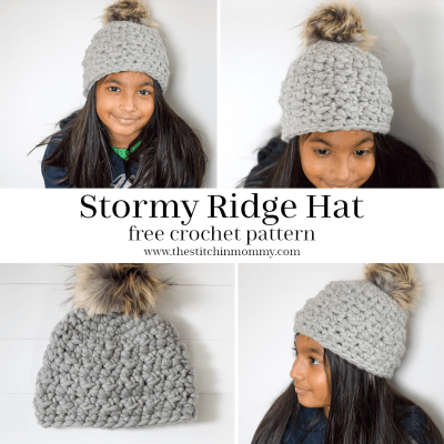 Stormy Ridge Hat – Free Crochet Pattern