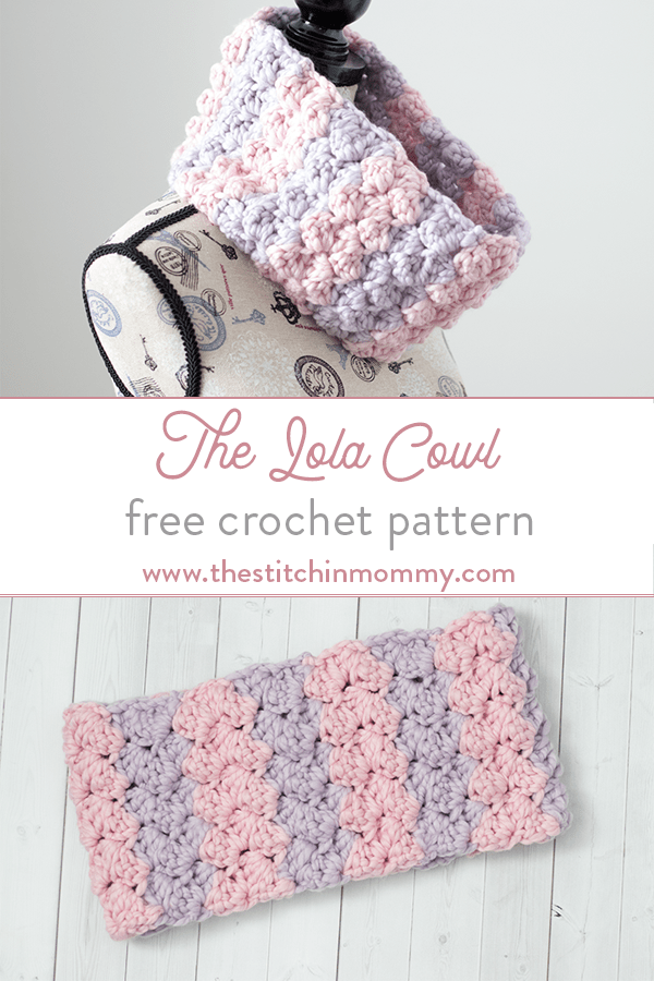 The Lola Cowl Free Crochet Pattern The Stitchin Mommy