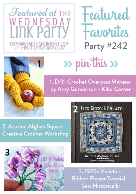 The Wednesday Link Party #242 Featured Favorites | www.thestitchinmommy.com