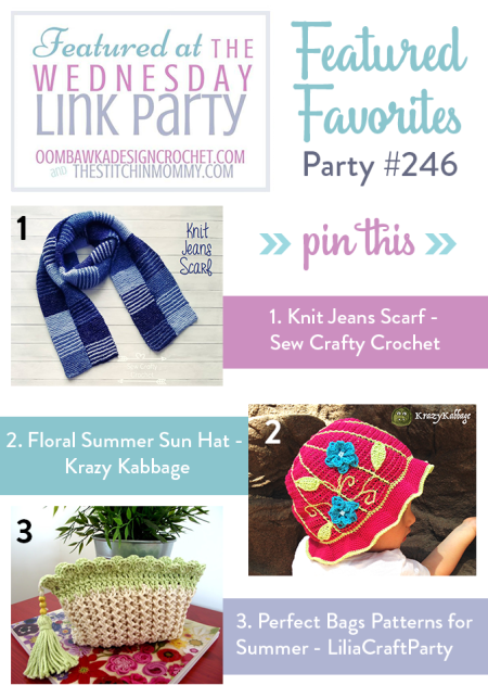 The Wednesday Link Party #246 Featured Favorites | www.thestitchinmommy.com