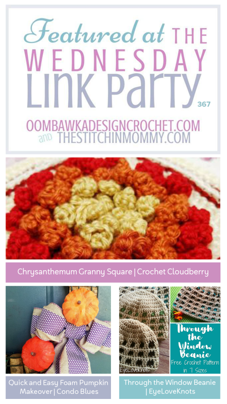 The Wednesday Link Party #367 | www.thestitchinmommy.com