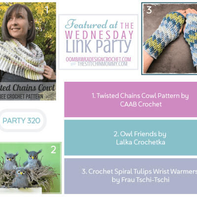 The Wednesday Link Party 320 featuring Twisted Chains Cowl
