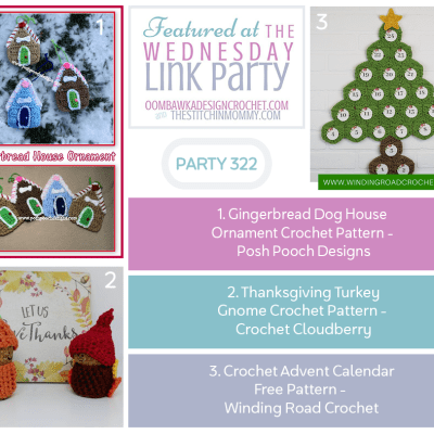 The Wednesday Link Party 322 featuring Gingerbread Doghouse Ornament