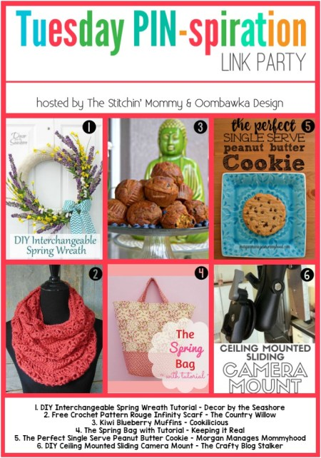 The NEW Tuesday PIN-spiration Link Party - Rhondda and Amy's Favorite Projects | www.thestitchinmommy.com