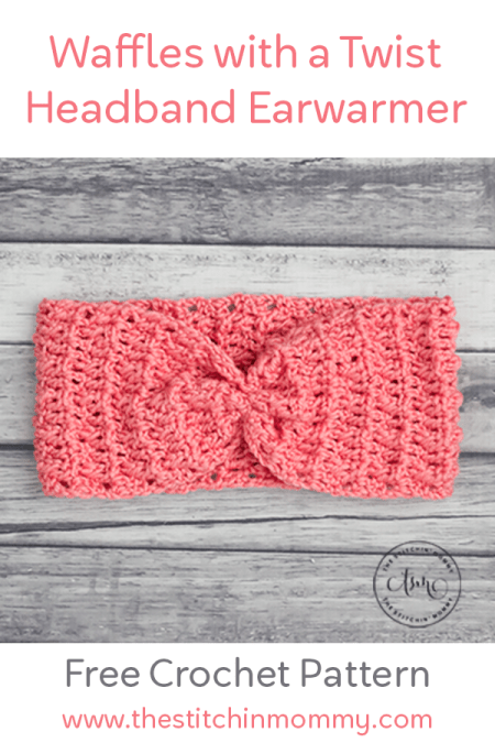 Waffles With a Twist Headband Earwarmer - Free Crochet Pattern | www.thestitchinmommy.com #fallfavorites #designcreaterepeat