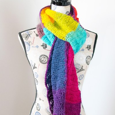 Waves of Enchantment Scarf – Free Crochet Pattern