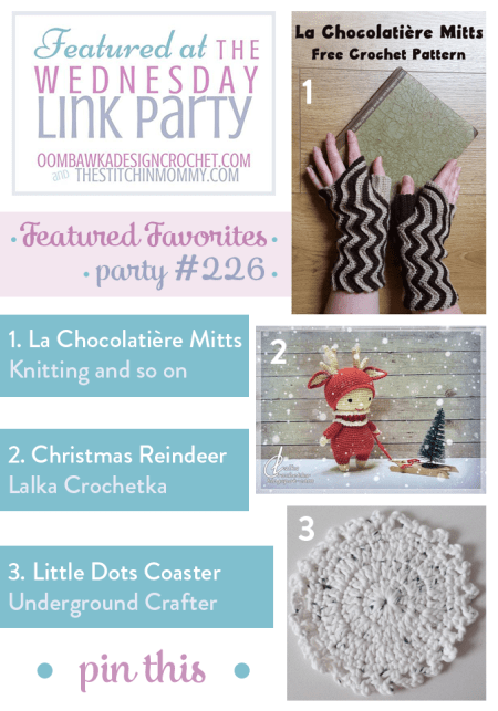 The Wednesday Link Party #226 Featured Favorites | www.thestitchinmommy.com
