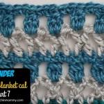 Wonder Crochet Blanket CAL Part 7