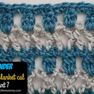 Wonder Crochet Blanket CAL Part 7