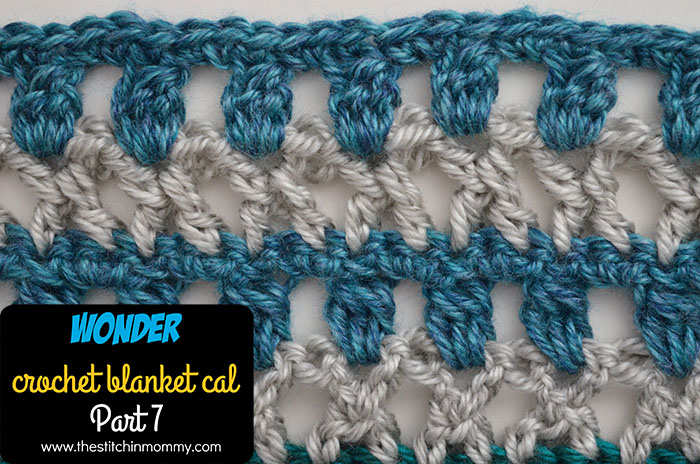 Wonder Crochet Blanket CAL Part 7 | www.thestitchinmommy.com