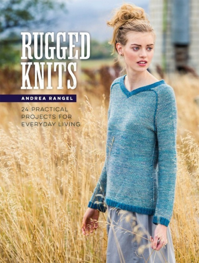 Rugged Knits by Andrea Rangel - Book Review and Pattern Excerpt | www.thestitchinmommy.com