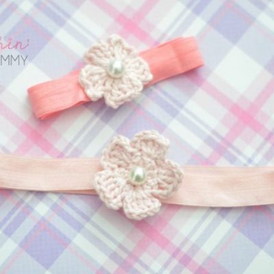 Crochet Flower Headband – Sharp Crochet Hook Review & Giveaway!