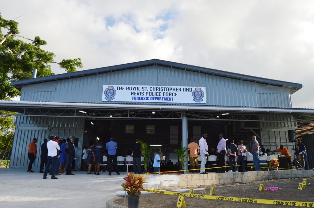 New forensic department in St KittsNevis commissioned  The St Kitts Nevis Observer