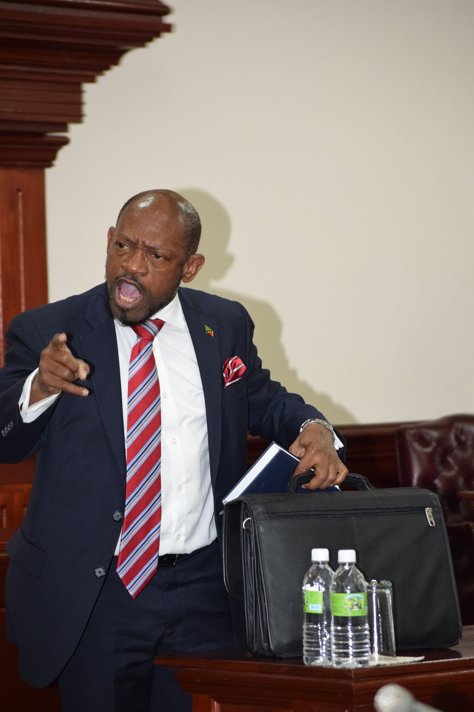 St KittsNeviss opposition leader suspended from House