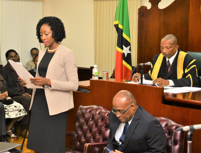 Sonia Boddie Appointed Deputy Clerk Of National Assembly