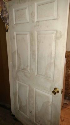a moldy basement door and how to find a fixer upper