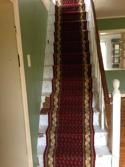 crooked stair runner the stone head