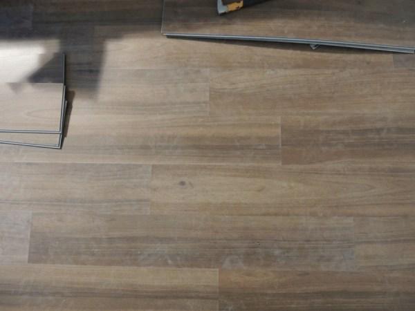Vinyl Plank Flooring Tutorial No Nails No Glue The Stone Head - Where to start vinyl plank flooring