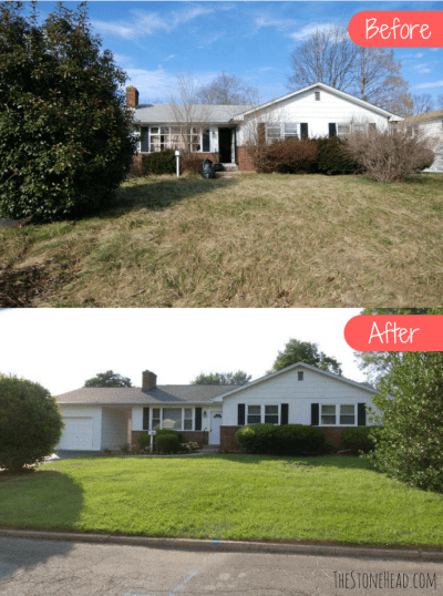 Buying and Flipping houses isn't glamorous but it's what I love to do! Check out all the before and after photos on my blog at www.thestonehead.com.